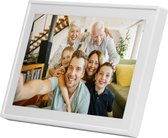 Denver PFF-711 White - Digitale Fotolijst - Fotokader - 7 inch - IPS touchscreen - met Frameo software - Wit