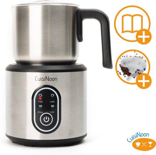 CuisiNoon® Premium Melkopschuimer Multifunctioneel - Barista Aeroccino -...