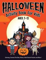 Halloween Activity Book for Kids Ages 7-12