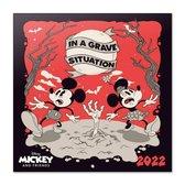 Mickey Mouse kalender 2022-Minnie-formaat 30x30cm
