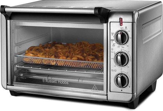 (Mini) Air Fry Mini Oven, 5 Instellingen, Airfryer, Grillen, Roosteren, Bakken, Opwarmen, 1500 Watt,