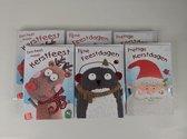 60 stuks: Luxe Kerstkaart en Nieuwjaarskaart - met envelop - 10x15cm- 4 pakjes -
