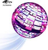 Flynova Pro Roze - Fidget Toy Boomerang Spinner - Magic Flying Ball - ALLEEN BIJ AG COMMERCE NEW UPGRADE 2021- ORIGINEEL FLYNOVA GEEN IMITATIE - Fidget Zintuiglijke speelgoed voor kinderen - Mini Drone bal met LED
