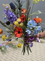Seta Fiori zijden boeket – veldbloemen - 65cm -