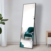 Passpiegel - Staande Spiegel - Wandspiegel - Wandspiegel Rechthoek - Wandspiegel Industrieel - Passpiegel Staand - Spiegel - Passpiegel Hangend - Spiegels - Passpiegel Zwart - Grote Spiegel - Passpiegels - Passpiegel Slaapkamer