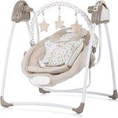 Chipolino Paradise Baby Swing - Elektrische babyschommel - 2 in 1 - Geschikt voor newborns - Met muziek - Beige