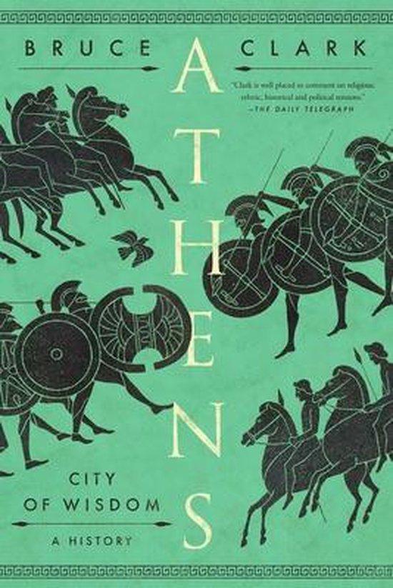 Boek cover Athens van Bruce Clark (Hardcover)