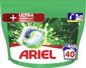 Ariel All in 1 Wasmiddel Pods + Ultra Vlekverwijderaar - 40 Wasbeurten - Voordeelverpakking