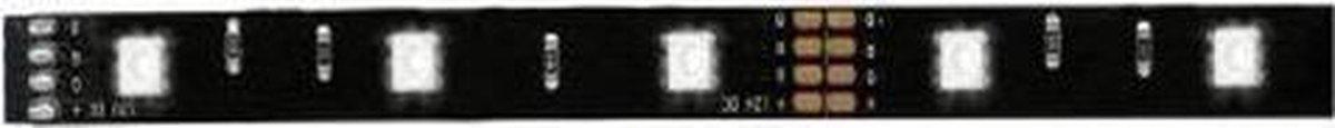 4 Stuks Function YourLED ECO strip 50cm RGB 3,6W 12V DC zwart 70198