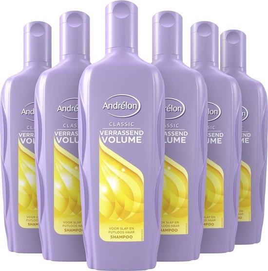 Andrélon Classic Verrassend Volume Shampoo - 6 x 300 ml - Voordeelverpakking