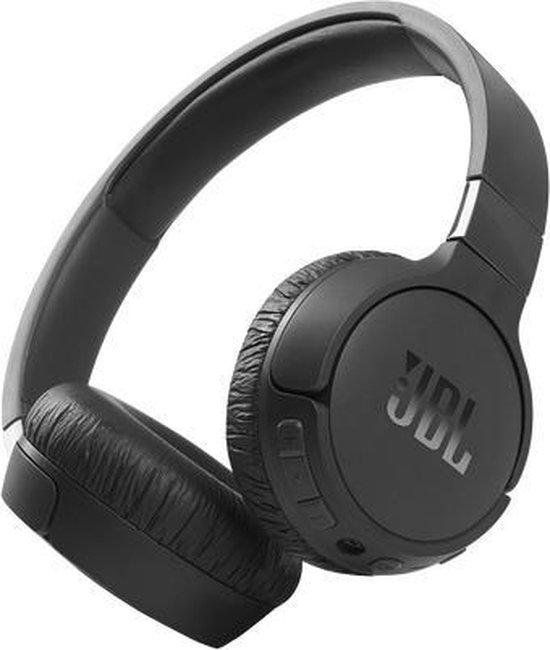 JBL Tune 660NC Zwart - Draadloze on-ear Noise Cancelling koptelefoon