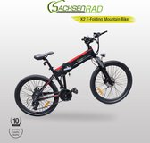 "Bol.com-SachsenRad K2 Fat Folding Bike 26""  Ebike 250 W-aanbieding"