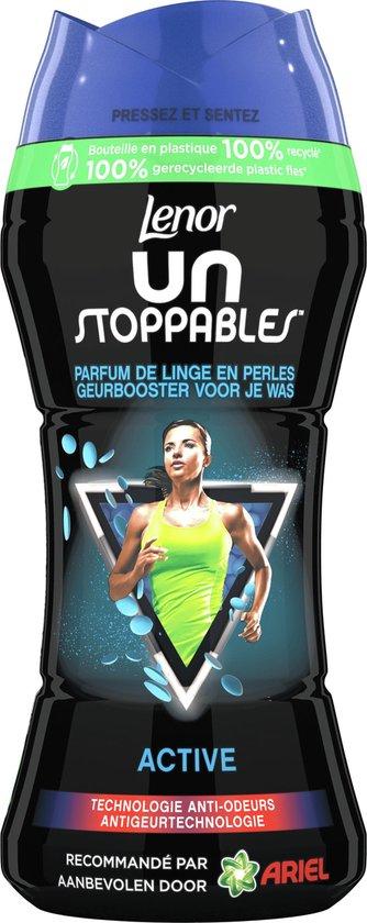 Lenor Unstoppables Geurparels XL Active, Voordeelverpakking 4 x 285 gram