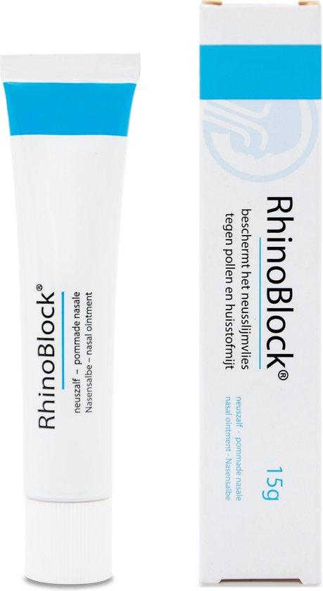 Rhinoblock A-allergie Neuszalf - 15 gram - 1 stuk