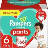 Pampers Baby Dry Pants - Maat 6 - Mega Pack - 66 luierbroekjes