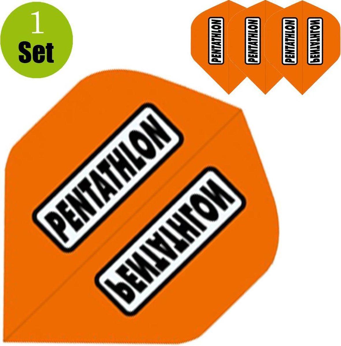 Pentathlon Dartflights - Oranje- ()