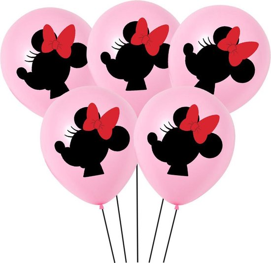 Minnie Mouse Ballonnen - set van 6