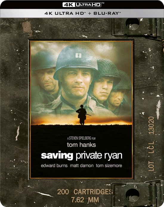 Saving Private Ryan (Steelbook) (4K Ultra HD Blu-ray)