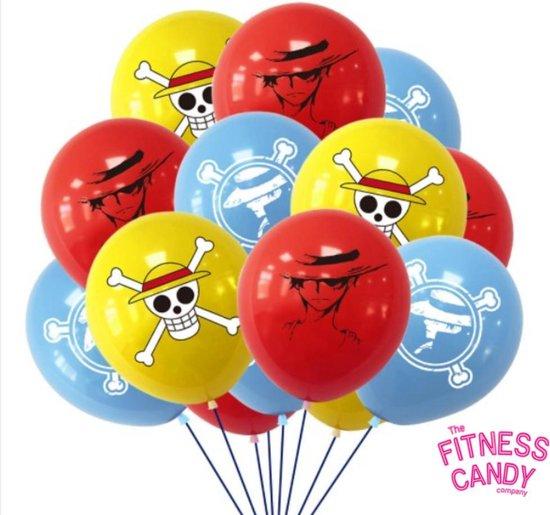 Piraten ballonnen - Set van 12