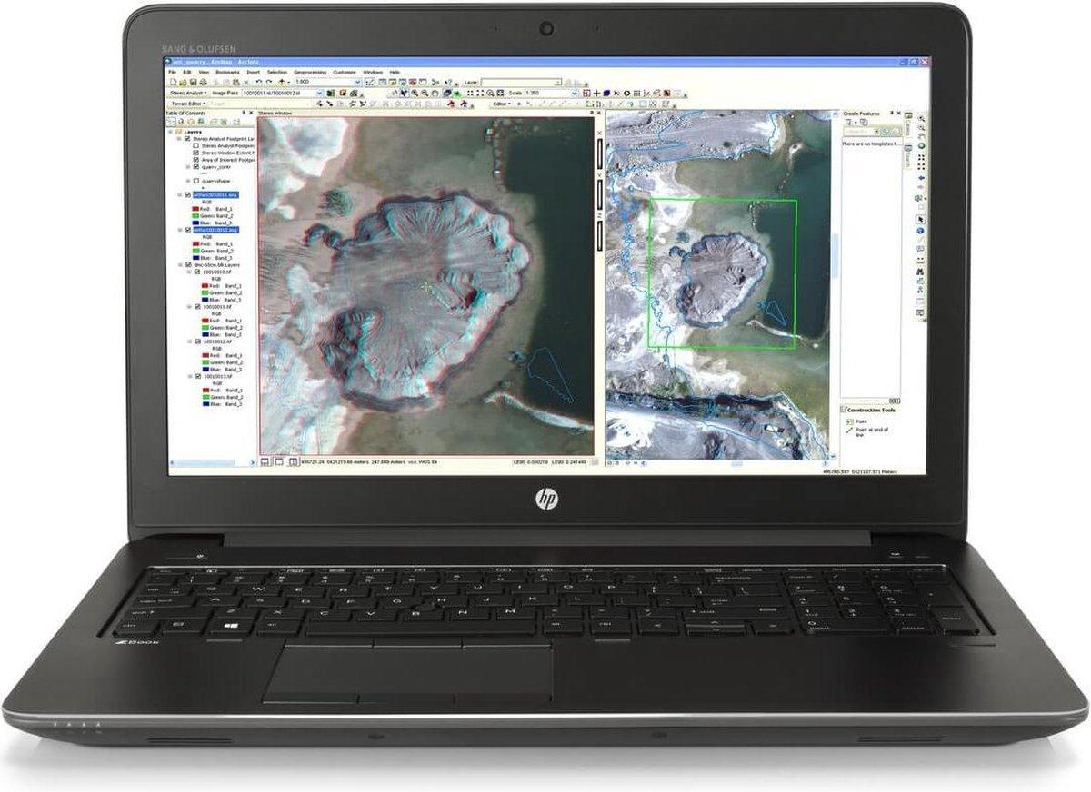 HP Zbook 15 G3 (Refurbished) - Intel Core i7-6820HQ - 32GB - 512GB-SSD - 15,4'' Full HD - Nvidia Quadro m2000m 4GB DDR5 - Windows 10