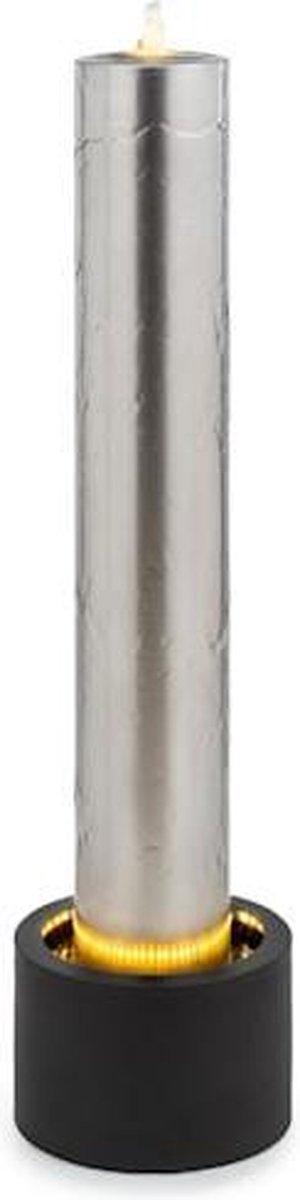 blumfeldt Ayana fontein - tuinfontein - sierfontein - waterstroming: 800 l/h - 12W pomp - modern design - roestvrij staal