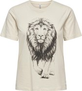 ONLY ONLCATS LIFE REG S/S TOP BOX CS JRS Dames T-shirt - Maat M