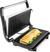 Tosti apparaat - Tosti ijzer - Wit - Contactgrill - Toaster