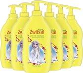 Zwitsal Frozen Zeepvrij Anti-Klit Babyshampoo - 6 x 400 ml - Voordeelverpakking