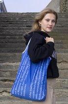 Re-Banner FOLD - opvouwbaar boodschappentasje - duurzaam - herbruikbaar - slijtvast - wasbaar