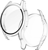 Bumper voor Huawei Watch GT2 42mm – Siliconen Case – Screenprotector Hoesje – Transparant