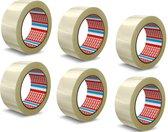 Verpakkingstape - 50MM x 66 Meter - Tesa Verpakkingstape - Taperollen - Noisy - Transparante Tape - Verzenden