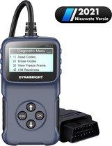 DynaBright - OBD2 Scanner voor Auto - Uitleesapparatuur Auto - Storing Zoeken - Diagnosecomputer - OBD2 - Uitleesapparatuur - OBD