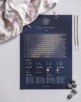 Maankalender 2022 - Poster A3 formaat