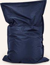 Zitzak Voor Jong en Oud - Drop & Sit - 100 x 150 cm - Voor Binnen en Buiten - Marine Blauw