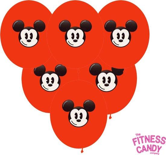 Mickey Mouse Ballonnen - set van 6
