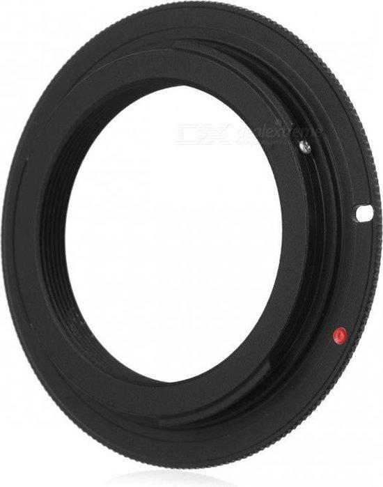 Adapter M42 lens naar Canon EOS EF body
