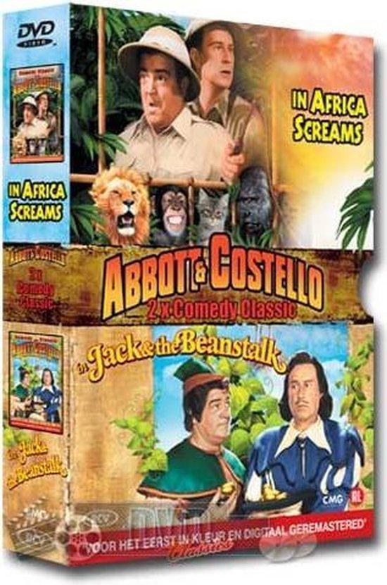 Cover van de film 'Abbott & Costello Classic Comedy Box'