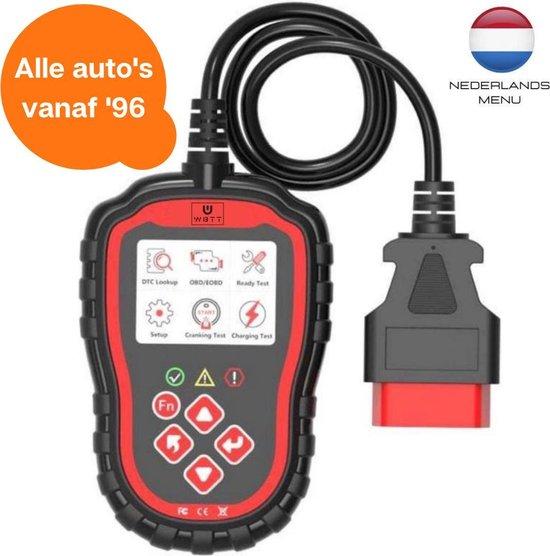 OBD Scanner - OBD2 - Uitleesapparaat Auto uitlezen - Diagnose apparatuur auto - Storing verwijderen auto