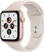 Apple Watch SE 2021 - Smartwatch - 44mm - Goudkleurig