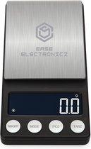 Digitale mini precisie keuken weegschaal | 0,01 tot 200 gram | 14.2 x 7.5 cm | pocket scale op batterij