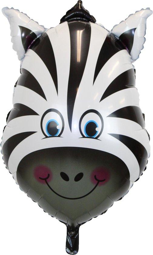Jungle Ballon Verjaardag Versiering Zebra Helium Ballonnen Feest Versiering Dieren Safari Decoratie – 90 Cm - 1 Stuk