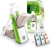 Dremdo Mandoline Groentesnijder – Keukensnijder – Handmatig – Schijfjes/Blokjes/Reepjes/Julliene - BPA-vrij
