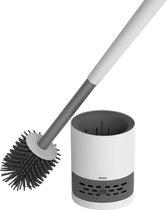 Dynter. TB362 Plus - WC Borstel - Hygiënische Toiletborstel met Houder - Wit