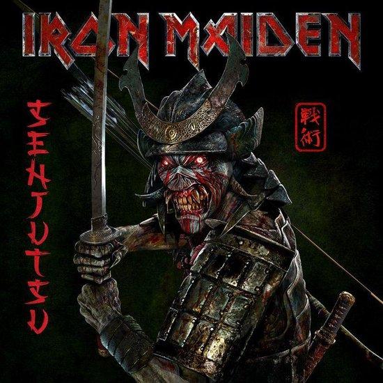 CD cover van SENJUTSU van Iron Maiden
