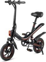 Elektrische vouwfiets - E Bike - city bike - met trapondersteuning - zwart - fiets - stad fiets - electrisch - XD Xtreme