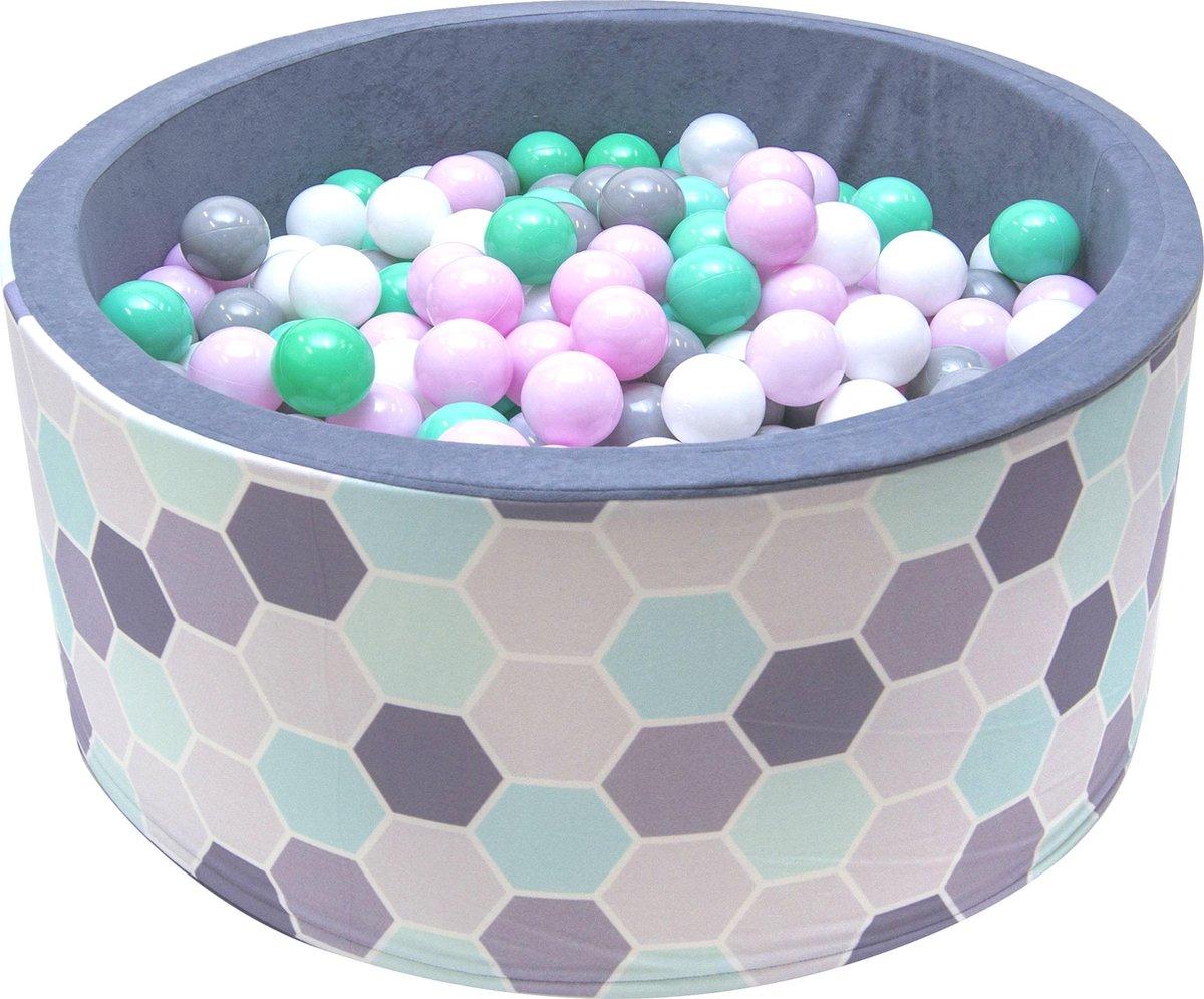 Ballenbak XL incl ballenbak ballen - Multi Color