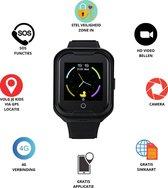 GPS Horloge 4 YOU - GPS Horloge kind - GPS Tracker - Smartwatch voor kinderen - Kinderhorloge - Gratis simkaart en Gratis app - SOS Knop - 4G verbinding- Waterdicht - Live GPS Locatie - HD (Video)bellen - Veiligheidzone instellen - Camera - Zwart 11