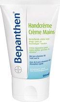 Bepanthen Handcrème is een herstellende crème voor droge, ruwe en beschadigde handen, 50 ml