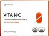 VITA N:O - Premium Multivitaminen (14+1) - Werelds Eerste Met Hoge Absorptie - (veggie) - 60 Pillen