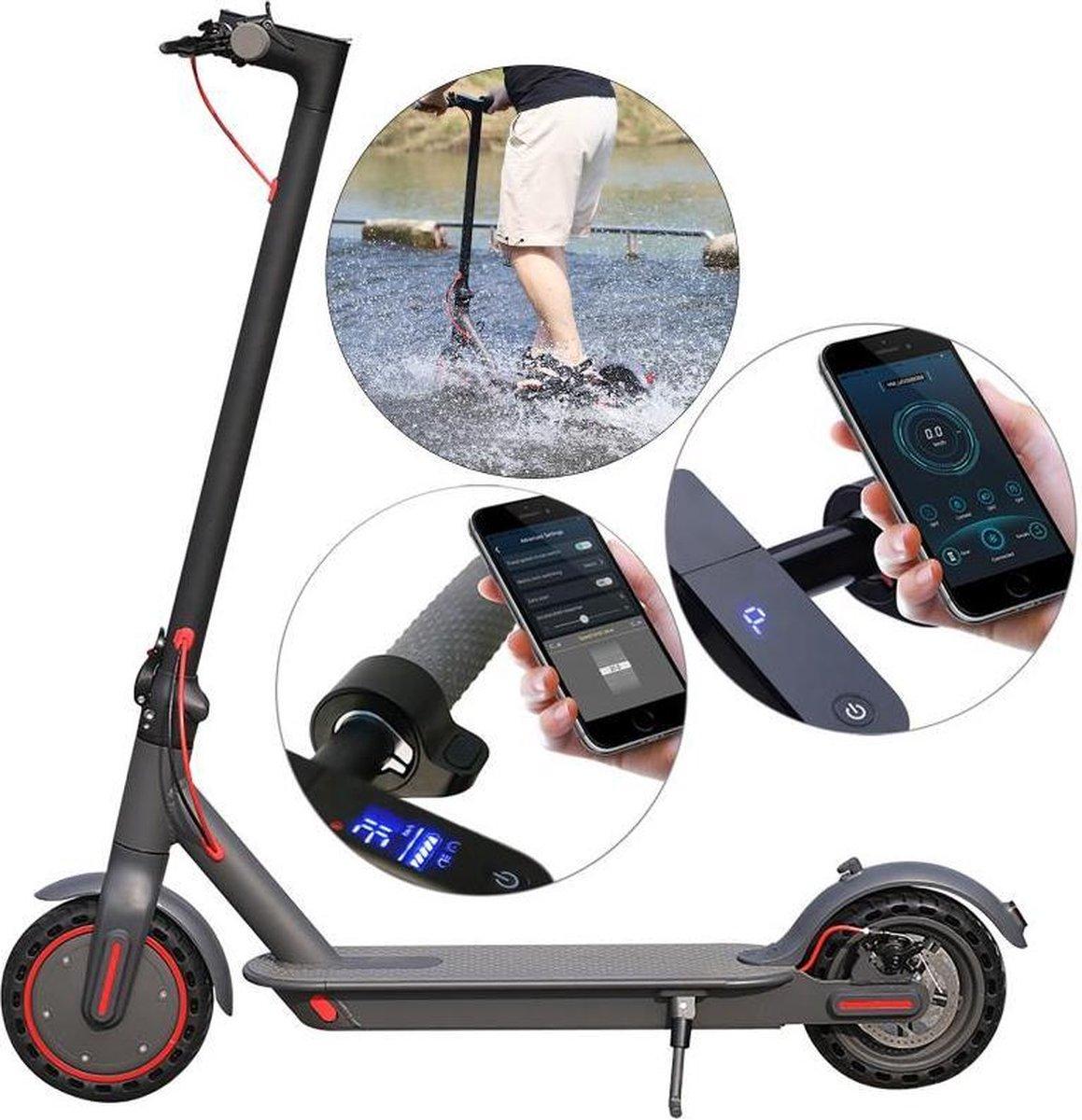 Merkloos / Sans marque Elektrische step -32km/u 40+km bereik- Bluetooth App Cruise control LED verlichting Opvouwbaar online kopen